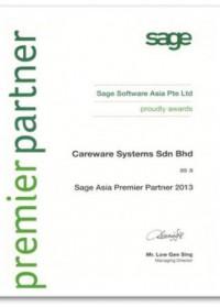 2013 Sage Premier Partner