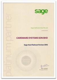 2016 Sage Plantinum Partner