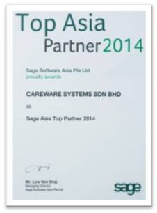 Sae Asia No 1 Partner 2014