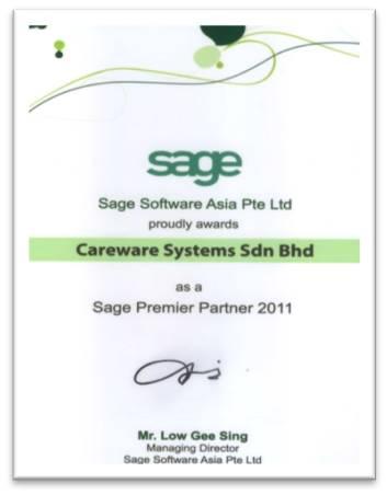Sage Asia Premier Partner 2011